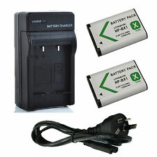2x Battery+AU charger for NP-BX1 SONY Cyber-shot DSC-RX100/ RX1R/ RX1R II/ WX500