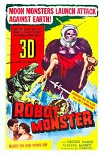 "Robot Monster Scifi Movie Poster 12"" X 18"""
