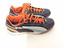 Puma Kids'/Youth evoSPEED 5 IT JR Indoor Soccer Shoes,Black ,US 4       (K11-PS)