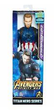 Captain America Avengers Marvel Infinity War Titan Hero Series Figure Capitan