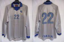 Maillot goal ITALIE ITALIA ITALY porté n°22 NIKE match worn shirt 1998 trikot L