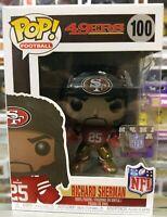 Richard Sherman (San Francisco 49ers) NFL Funko Pop! Series 5 Box #100 Classic