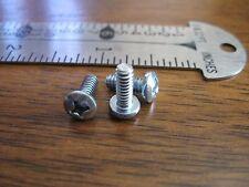 Steel Screws, Zinc - 6 - 32 X 3/8 - PAN HEAD, Philips, PHP , Qty 500, FAST SHIP