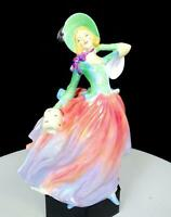"ROYAL DOULTON ENGLAND SIGNED #HN1911 AUTUMN BREEZES 7 1/2"" FIGURINE 1939-1976"