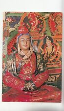 Bf28294 the richly couloured statue o zuglakang temple china front/back image