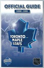 2000-01 Toronto Maple Leafs NHL Hockey Media Guide Yearbook Record Book