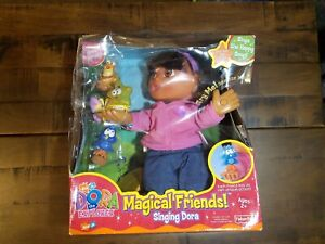 Vintage 2002 New in Damaged Box! Magical Friends! Singing Dora The Explorer Doll