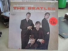 Introducing the BEATLES U.S STEREO title back  2nd version- Excellent CLEAN