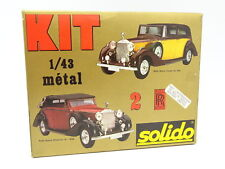 Solido Kit à Monter 1/43 - Rolls Royce Phantom III et Coupe de Ville