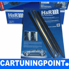 H&R Radabdeckung Kotflügelverbreiterung Radlaufleiste VA+HA 7mm schwarz FIT19