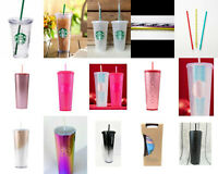 New Starbucks 2019 HOLIDAY NEON HOT PINK STUDDED IRIDESCENT SAME DAY SHIPPING