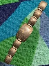 Africa Patina Free Ship As Is Vtg Algerian Silver Link Bracelet Tourist Travel
