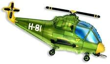 Helicopter Balloon 26 Inch Foil Balloon - Green