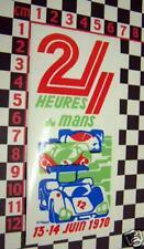 1970 Le Mans Sticker for a Porsche 911 914 911S 911T