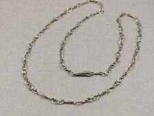 Silber Collier 835 Silber Halskette Geflecht