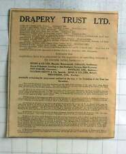 1926 The Drapery Trust Ltd, Centralised Buying Textile Trade