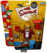 Simpsons Sunday Best Grampa Action Figure WOS MOC Series 9 RARE Toy Playmates