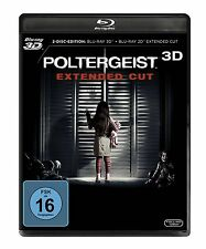 Poltergeist - Extended Cut (+ 2D-Version) [3D Blu-ray] - NEU in Folie (287)