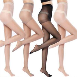 Womens Ultrathin Stockings Pantyhose Stretch Sock Thigh High Silk Top Hosiery