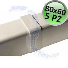 3S COPERCHIO COPRI GIUNTO CANALINA 80 x 60 mm PEZZI 5