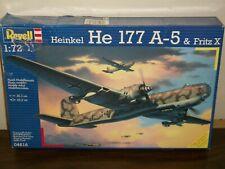 "Revell 1/72 Scale Heinkel He 177 A-5 ""Greif"" & Fritz X"