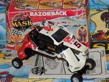 M.A.S.K boxed 100% comp RAZORBACK kenner mask T-Bird Stock Car Brad Turner box