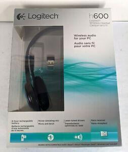 Logitech H600 Wireless Headset Brand New