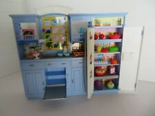 Barbie Blue Fancy Life Kitchen with Accessories