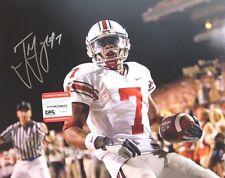 00e4190ec84 TED GINN JR Buckeyes  7 Signed 16x20 Photo autographed Ohio State COA  eyewitness