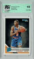 RJ Barrett 2019 Donruss Basketball #203 Gem Mint Rookie Card PGI 10