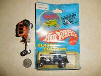 Hot Wheels Classy Customs Paddy Wagon & Stagefright 1977 & buffalo nickel~1936