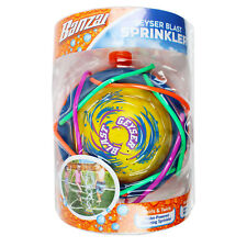 Banzai Geyser Blast Water Powered Spinning Spraying Sprinkler 3+