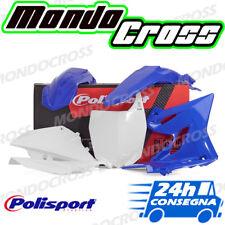 Kit plastiche cross mx POLISPORT Blu Bianco YAMAHA YZ 125 2018 (18)!