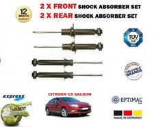 FOR CITROEN C5 BERLINA 2008 > NEW 2X FRONT + 2X REAR LEFT RIGHT SHOCK ABSORBERS