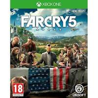 Far Cry 5 Xbox One MINT CONDITION - Same Day Dispatch via Super Fast Delivery