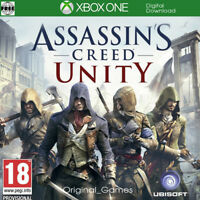 Assassin's Creed Unity Xbox One Key Full Game region free (No CD/DVD)