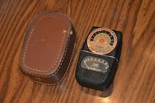 GE Type DW-68 Exposure Meter w/ Leather Case
