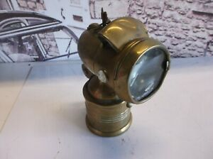 Vintage bicycle / motorcycle lamp, maybe 1920's Up cycle ?