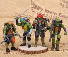 Teenage Mutant Ninja Turtles /TMNT 4PCS Collection Action Figures Kid's toy gift