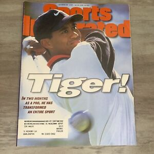 Sports Illustrated October 28, 1996- Tiger Woods- First Cover