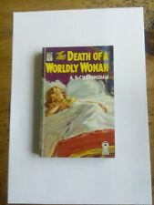 DELL MAPBACK BOOK- THE DEATH OF A WORLDLY WOMAN BY A B CUNNINGHAM #365