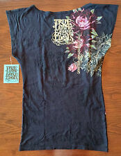 True Love False Idols Tee in Black Womens size Medium