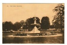 Old Postcard of The Park, Taunton 1928