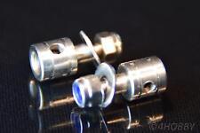 2x Gestänge-Anschluss 2mm Edelstahl 90° Verstellbar Modellbau RC Servo Zugstab