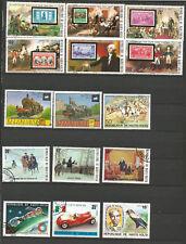 Haute-Volta 1975 un lot de 30 timbres oblitérés /T5030