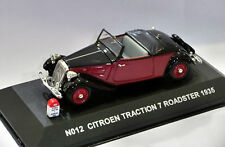 Citroen Traction 7 Roadster 1935 echelle 1/43 Nostalgie Ref.N012