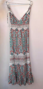 BILLABONG WOMEN'S SUMMER MAXI DRESS, SIZE 8.
