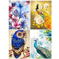 New Peacock Full Drill DIY 5D Diamond Painting Embroidery Cross Stitch Hot Sold