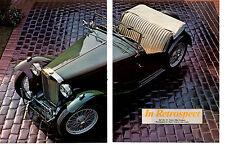 1947 MG TC  ~  NICE 5-PAGE ARTICLE / AD