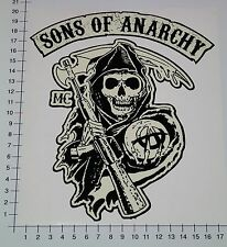 SONS OF ANARCHY XXL Aufkleber StickerBiker MC Bobber SOA Skull 1% Chopper Big18